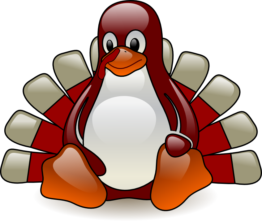 HokieTux, the VTLUUG Mascot