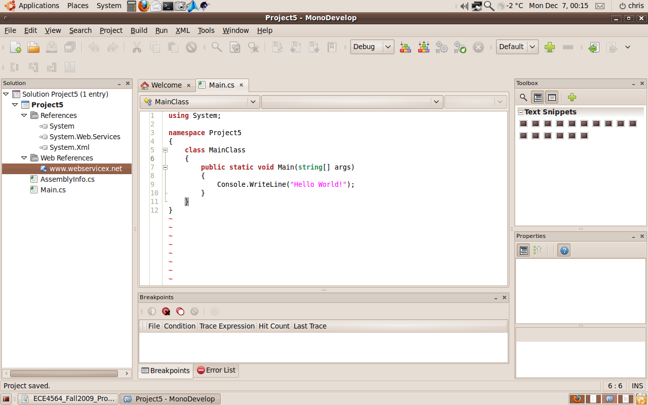 MonoDevelop-Web reference-Reference listed.png